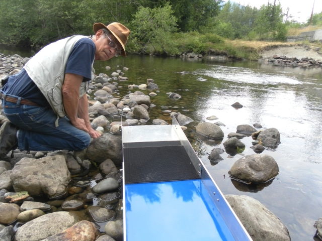 "16"" Riffleless Sluice Box by Cleangold"